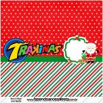 Mini Trakinas Natal Papai Noel