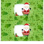 Molde Cofrinho Personalizado para Natal 1