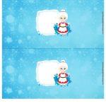 Molde Cofrinho Personalizado para Natal 3