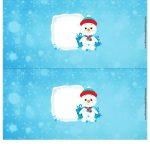 Molde Cofrinho Personalizado para Natal 4