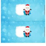 Molde Cofrinho para Natal 12