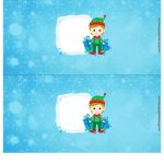 Molde Cofrinho para Natal 13