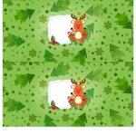 Molde Cofrinho para Natal 14