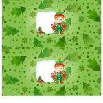 Molde Cofrinho para Natal 15