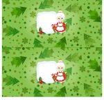 Molde Cofrinho para Natal 16