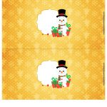 Molde Cofrinho para Natal 24