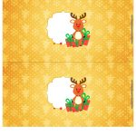 Molde Cofrinho para Natal 25
