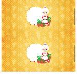 Molde Cofrinho para Natal 27