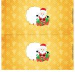Molde Cofrinho para Natal 28