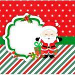 Molde para caixa bombom Natal Papai Noel