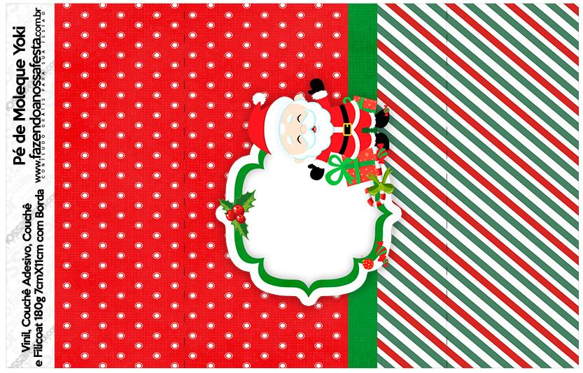 Pé de Moleque Yoki Natal Papai Noel