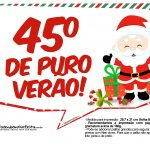 Plaquinhas Natal Papai Noel 13