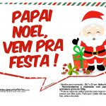 Plaquinhas Divertidas Natal Papai Noel 15