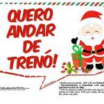 Plaquinhas Divertidas Natal Papai Noel 16