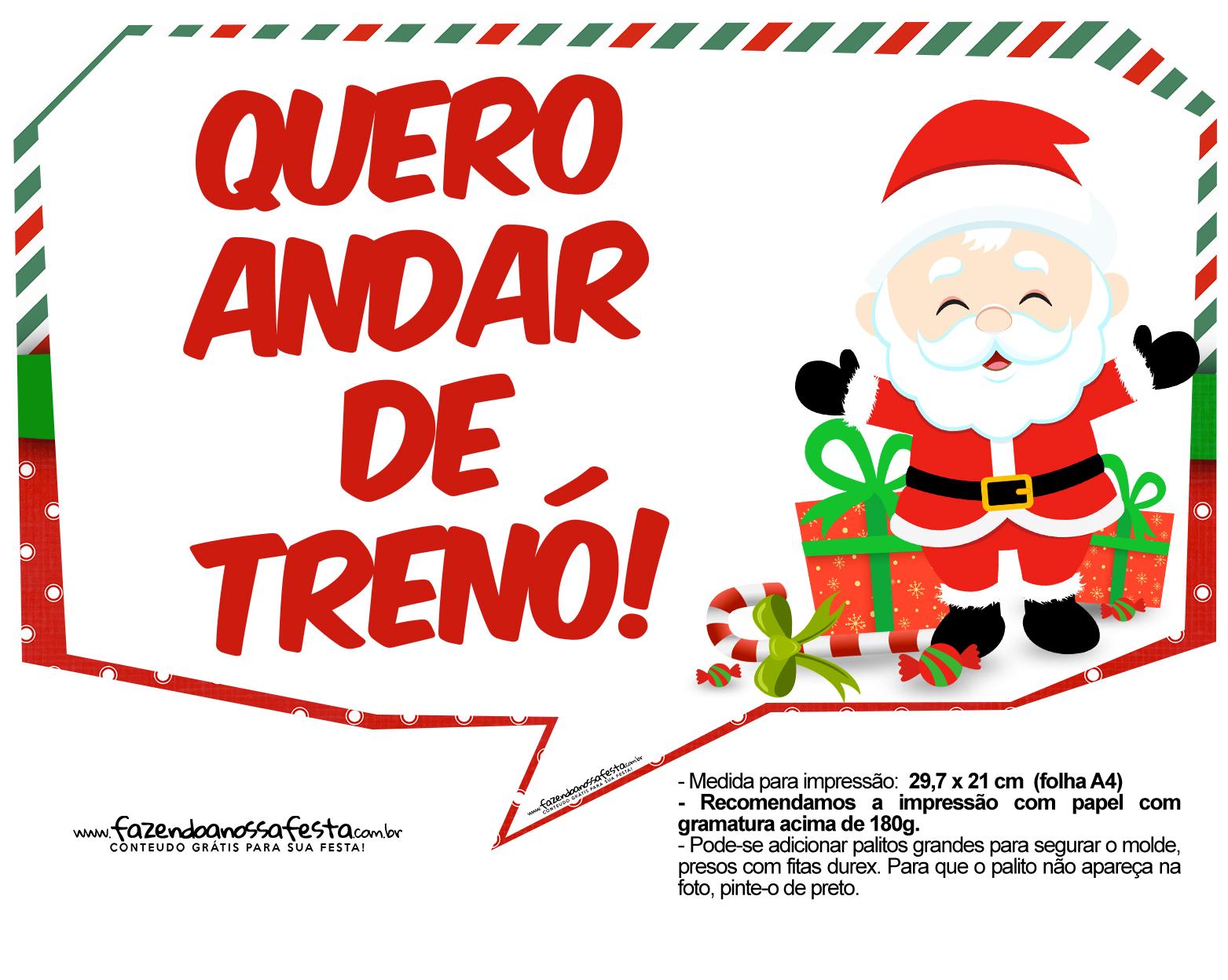 Plaquinhas Divertidas Natal Papai Noel 16 Fazendo A Nossa