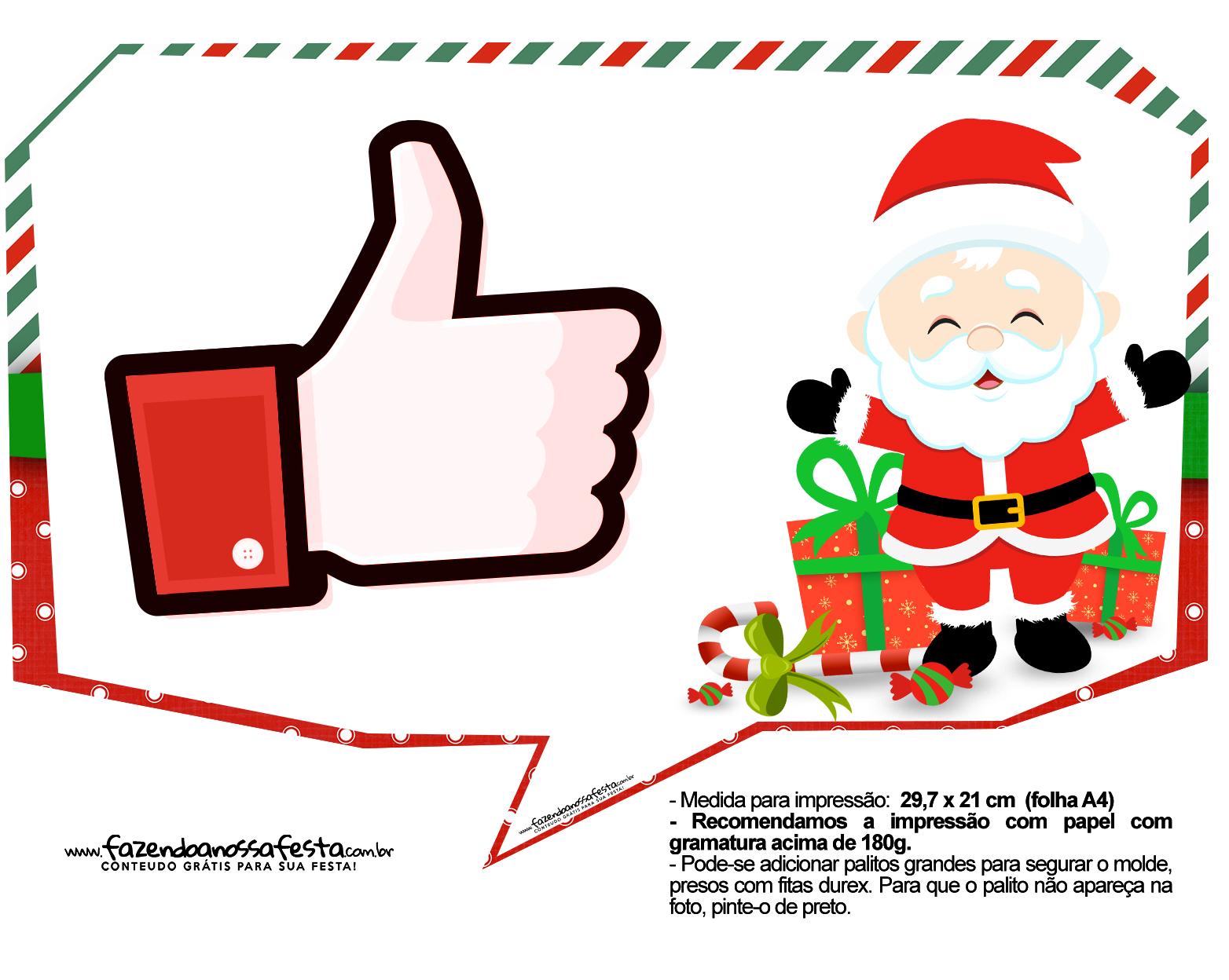 Plaquinhas Divertidas Natal Papai Noel 18