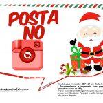 Plaquinhas Divertidas Natal Papai Noel 19