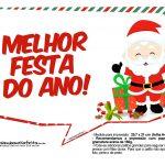 Plaquinhas Divertidas Natal Papai Noel 22