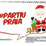 Plaquinhas Divertidas Natal Papai Noel 24