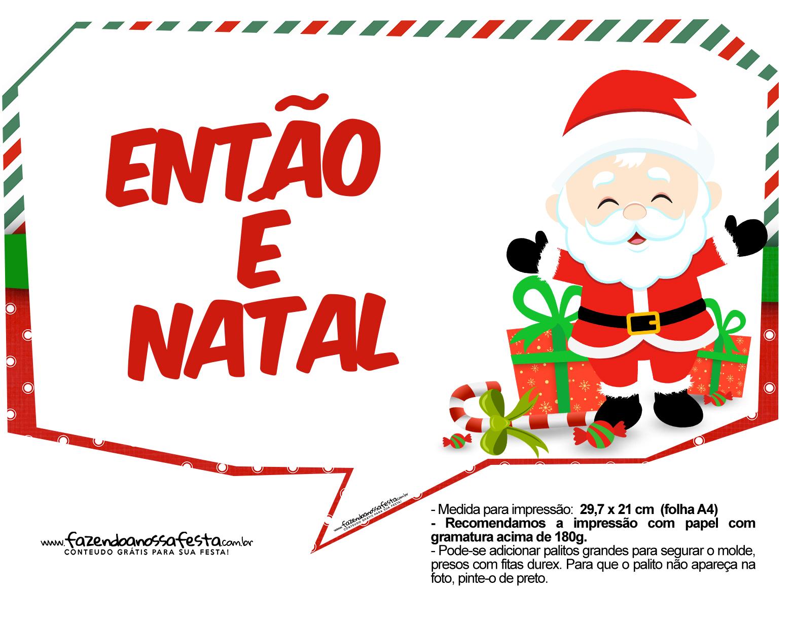 Plaquinhas Divertidas Natal Papai Noel 26