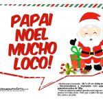 Plaquinhas Divertidas Natal Papai Noel 30