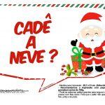 Plaquinhas Divertidas Natal Papai Noel 31
