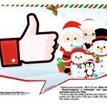 Plaquinhas divertidas para fotos de Natal 18