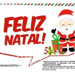 Plaquinhas Natal Papai Noel 2