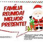Plaquinhas Natal Papai Noel 7