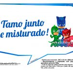 Plaquinhas Divertidas PJ Masks 3