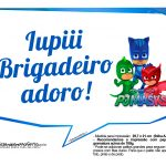 Plaquinhas Divertidas PJ Masks 4