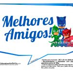 Plaquinhas Divertidas PJ Masks 5