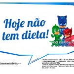 Plaquinhas Divertidas PJ Masks 7