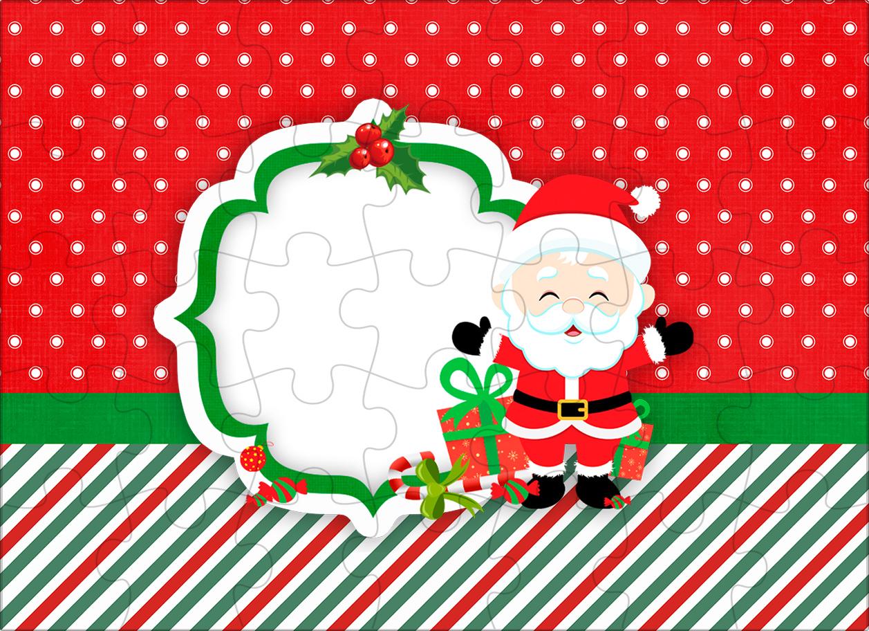 Quebra-cabeça Natal Papai Noel