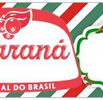 Rótulo Guaraná Caçulinha Natal Papai Noel