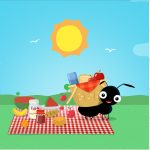 Rótulo Mini confeti Kit Festa Picnic