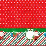 Rótulo Nescauzinho Natal Papai Noel