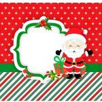Rótulo Vinho e Espumante Natal Papai Noel