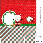 Sacolinha Surpresa 1-2 Natal Papai Noel