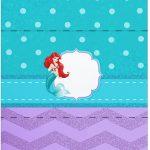 Bala Personalizada Pequena Sereia Ariel