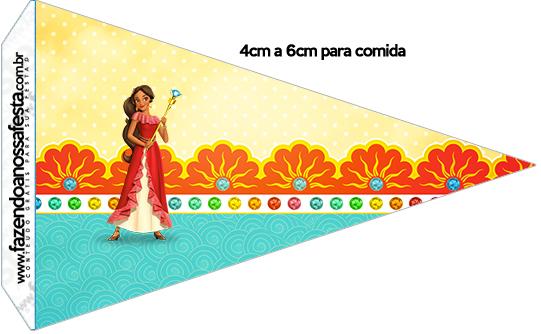 Bandeirinha Sanduiche 1 Elena de Avalor