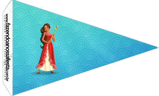 Bandeirinha Sanduiche 4 Elena de Avalor