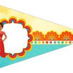 Bandeirinha Sanduiche 5 Elena de Avalor