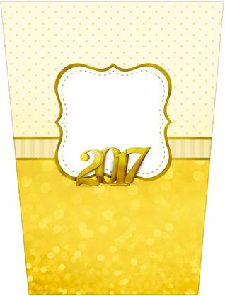 Bisnaga Brigadeiro Ano Novo 2017