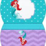 Bolsinha para lembrancinha Pequena Sereia Ariel
