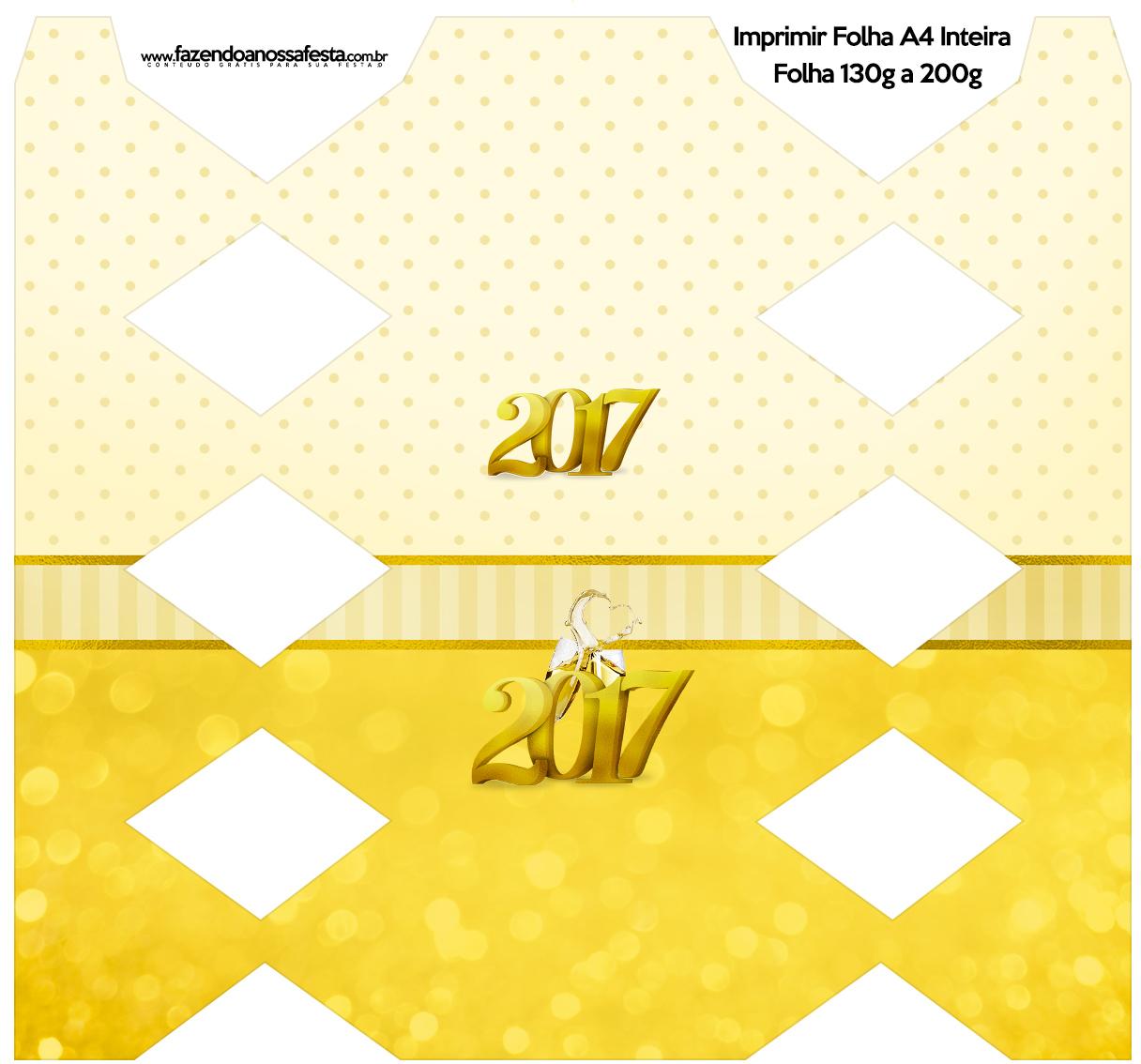 Caixa Bala Kit Festa Ano Novo