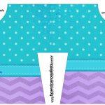 Convite Camisa Kit festa Pequena Sereia Ariel