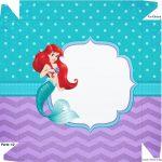 Caixa bombom Tampa Pequena Sereia Ariel