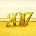 Cartão Ano Novo 2017