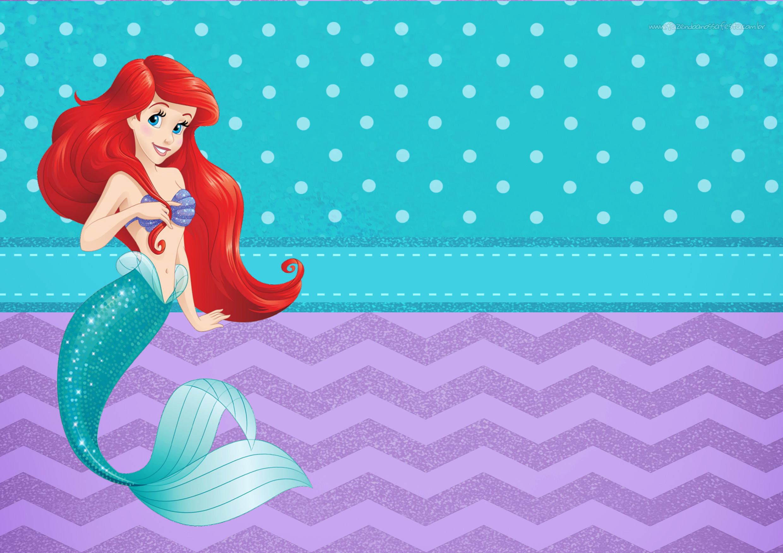 convite 2 pequena sereia fazendo a nossa festa little mermaid clipart images little mermaid clip art shell